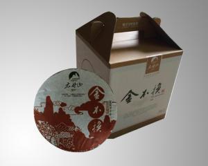 2011年金不换牡丹老白茶饼